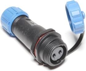 OL1311S-2-I, Разъем герметичный 2pin розетка на кабель