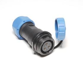 OL1711/S3, Разъем герметичный 3pin розетка на кабель