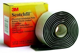 Scotchfil 38мм х 1.5м, Мастика электроизоляционная термостойкая