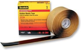 Scotch 2228 (50мм х 3м), Изолента резиново-мастичная термостойкая