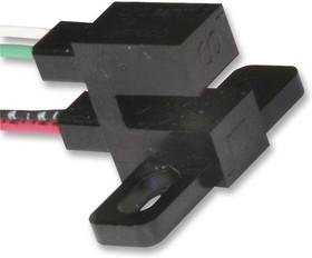 Фото 1/2 OPB840W11Z, Пропускающий фотопрерыватель, Фототранзистор, Панель / Шасси, 3.18 мм, 0.25 мм, 50 мА, 2 В