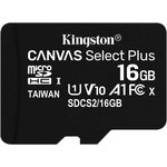 Флеш карта microSDHC 16Gb Class10 Kingston SDCS2/16GBSP ...