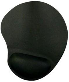 Коврик для мыши BURO BU-GEL черный [bu-gel/black]