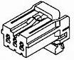 174923-2, 0.70 Plug 1row 6way skt c