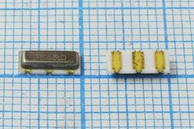 Керамические резонаторы 3.64МГц, SMD 7.2x3.0мм с тремя контактами, пкер 3640 \C07230C3\\5000\4000/- 20~80C\CSTCC3,64MG-TC\