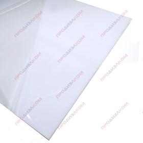 Монолитный поликарбонат белый 8 х 500 х 500 мм BORREX (опал)