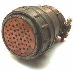 2РМДТ45КПН50Г8В1В, Розетка на кабель с прямым патрубком для неэкранированного кабеля