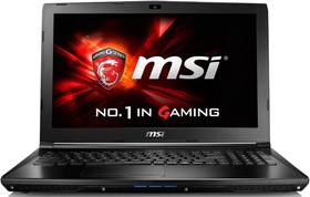 """Ноутбук MSI GL62 6QD-006RU, 15.6"""", Intel Core i7 6700HQ, 2.6ГГц, 8Гб, 1000Гб, nVidia GeForce GTX 950M - 2048 Мб (9S7-16J612-006)"""