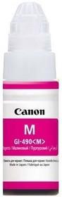 Картридж CANON GI-490M 0665C001, пурпурный