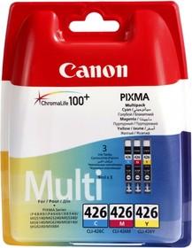 Набор картриджей CANON CLI-426CMY 4557B006, голубой / пурпурный / желтый