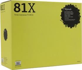 Картридж T2 TC-H81X CF281X, черный
