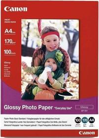 Бумага CANON GP-501 0775B001, для струйной печати, A4, 170г/м2, 100 листов