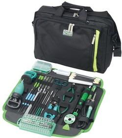 Фото 1/2 PK-9113B, Набор инструментов для эл. техники (30 предметов)