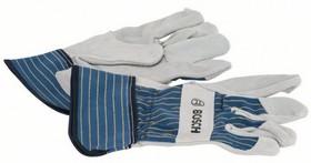 Защитные перчатки с вставками из бычьей кожи GL SL 11, 1 пара