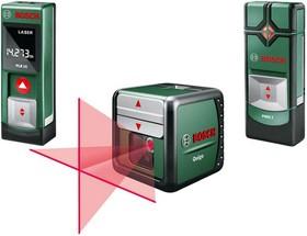 PLR 15 + PMD 7 + Quigo, Лазерный дальномер + Нивелир + Детектор для обнаружения металла, меди, электропроводки