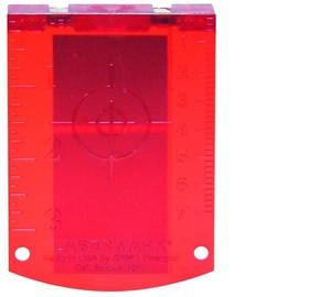 1608M0005C, Мишень для улучшения видимости красного лазерного луча для лазерных нивелиров