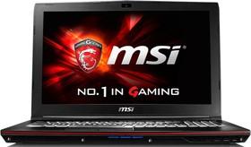 """Ноутбук MSI GP62 6QF(Leopard Pro)-467RU, 15.6"""", Intel Core i5 6300HQ, 2.3ГГц, 8Гб, 1000Гб, nVidia GeForce GTX 960M - (9S7-16J522-467)"""