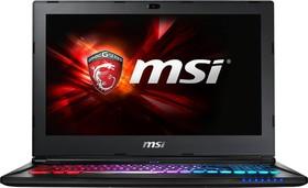 """Ноутбук MSI GS60 6QD(Ghost)-245RU, 15.6"""", Intel Core i5 6300HQ, 2.3ГГц, 16Гб, 1000Гб, nVidia GeForce GTX 965M - 2048 (9S7-16H822-245)"""