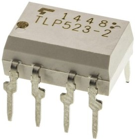 TLP523-2(F), Optocoupler DC-IN 2-CH Darlington DC-OUT 8-Pin PDIP