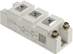 Фото 1/6 SKM100GB12T4, IGBT-модуль, 2-транзистора, 1200В, 100А [SEMITRANS 2]