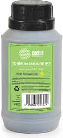 Тонер CACTUS CS-TSG3Y-45, для Samsung CLP-300, желтый, 45грамм, флакон