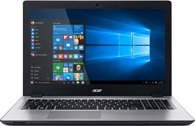 "Ноутбук ACER Aspire V3-575G-74R3, 15.6"", Intel Core i7 6500U, 2.5ГГц, 12Гб, 2Тб, nVidia GeForce 940M - 4096 Мб, DVD-RW (NX.G5FER.004)"