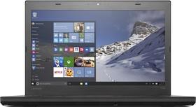 "Ультрабук LENOVO ThinkPad T460, 14"", Intel Core i7 6600U, 2.6ГГц, 8Гб, 500Гб, Intel HD Graphics 520, Windows 10 (20FN003HRT)"