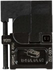 PM-4300-3132, Матрица для опрессовки разъёмов RJ 11
