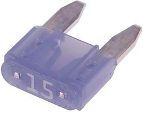 """KLS5-269-015 (F144 15A), Автопредохранитель """"мини"""" 15А"""
