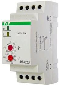 Фото 1/2 Регулятор температуры RT-820 (от +4 до +30 град.C; с выносным датчиком в комплекте; 2 модуля; монтаж на DIN-рейке; 50-264В AC 16А 1NO/NC IP2