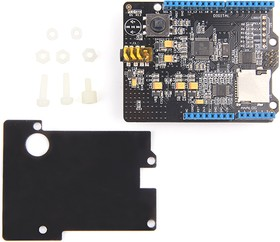 Music Shield V2.0, Плата расширения для Arduino на основе VC1053B с возможностью записи и воспроизведения Audio
