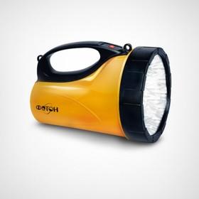 Фонарь аккумуляторный светодиодный «ФОТОН» РВ-0318 Yellow (18 светодиодов) (21126)