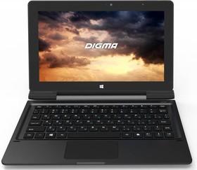Планшет DIGMA EVE 1800 3G + Keyboard, 2GB, 32GB, 3G, Windows 10 графит [es1035eg]