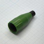 XLR колпачок зеленый d=3-6.5мм, Amphenol