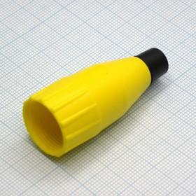 XLR колпачок каб. жел. d=3-6.5мм, Amphenol
