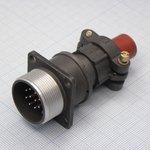 2РМТ22БПН10Ш1В1В, Вилка на блок с прямым патрубком для неэкранированного кабеля