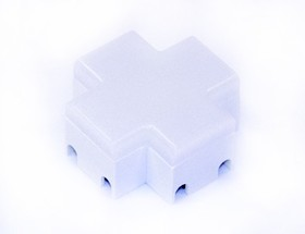 09-29, Коннектор крестовой для соединения трековых светодиодных светильников, 1.2Вт, 4000К