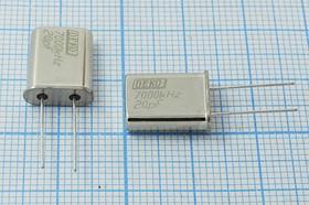 Фото 1/4 Кварц 7МГц,корпус HC49U,расширенный интервал температур -40~+70C,нагрузка 20пФ, 7000 \HC49U\20\ 30\ 40/-40~70C\РК374МД-8ВТ\1Г (DEK