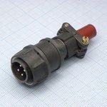 Фото 2/2 2РМДТ18КПН4Ш5В1В, Вилка на кабель с прямым патрубком для неэкранированного кабеля