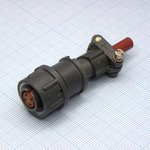 Фото 3/4 2РМТ14КПН4Г1В1В, Розетка на кабель с прямым патрубком для неэкранированного кабеля