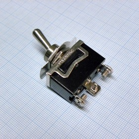 MT KN3(C)-102A-B2 15A/125V; 10A/250V, ON-ON 1 гр. конт. винты