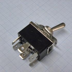 MT KN3(C)-203AP-B3 15A/125V 10A/250V, ON-OFF-ON 2гр. конт. клеммы