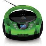 Аудиомагнитола BBK BX165BT зеленый/черный 3Вт/CD/CDRW/MP3/ ...