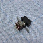 Фото 2/2 RLS-203-A1, Переключатель 6pin ON-OFF-ON (1.5A 250V)