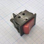 Фото 2/2 IRS-201-3C3 (красный), Переключатель с подсветкой ON-OFF (15A 250VAC) DPST 4P