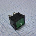 Фото 2/2 MIRS-202A-4C3 (зеленый), Переключатель 6pin ON-ON (10A 125VAC, 6A 250V, 15A 12VDC)