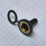 Фото 2/2 WPC-02, Колпачок влагозащитный для тумблеров KN3... (М12x0.75)