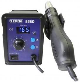 Паяльный фен ELEMENT 858D