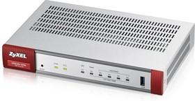 Фото 1/5 Сетевой экран Zyxel USG20-VPN (USG20-VPN-RU0101F) 10/100/1000BASE-TX/SFP серебристый