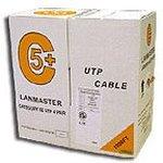 Кабель LANMASTER (LAN-5EUTP-LSZH) UTP 4 пары. кат ...